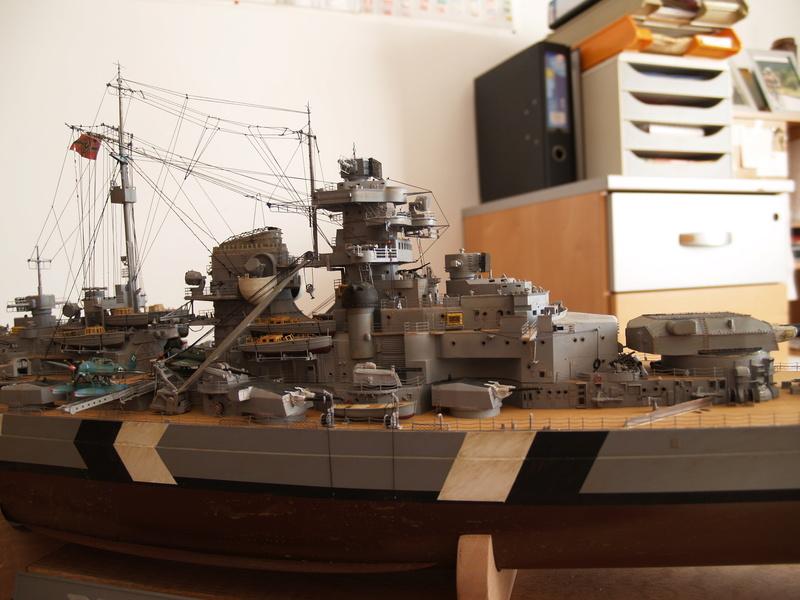 Bismarck 1/200 Trumpeter P1010911