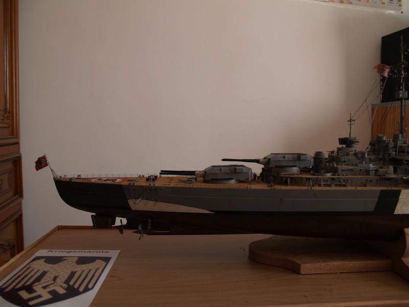 Bismarck 1/200 Trumpeter P1010915