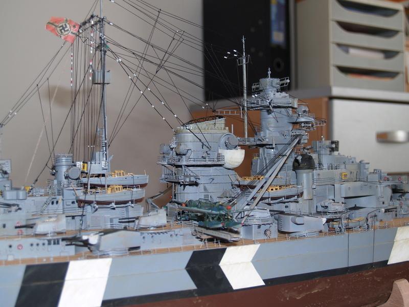 Bismarck 1/200 Trumpeter P1010917