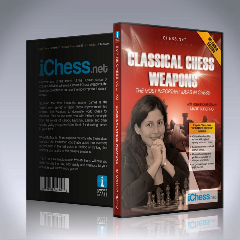 Empire chess---VOL 102--Classical Chess Weapons Classi10