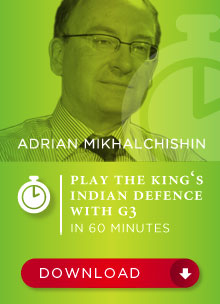 Adrian Mikhalchishin--Play the king's Indian defense with g3 Kidg3-10