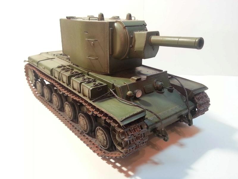 КВ-2   Моделист / Trumpeter  1:35 215