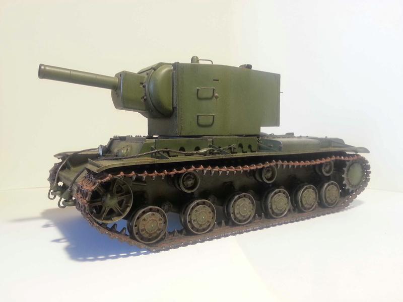 КВ-2   Моделист / Trumpeter  1:35 314