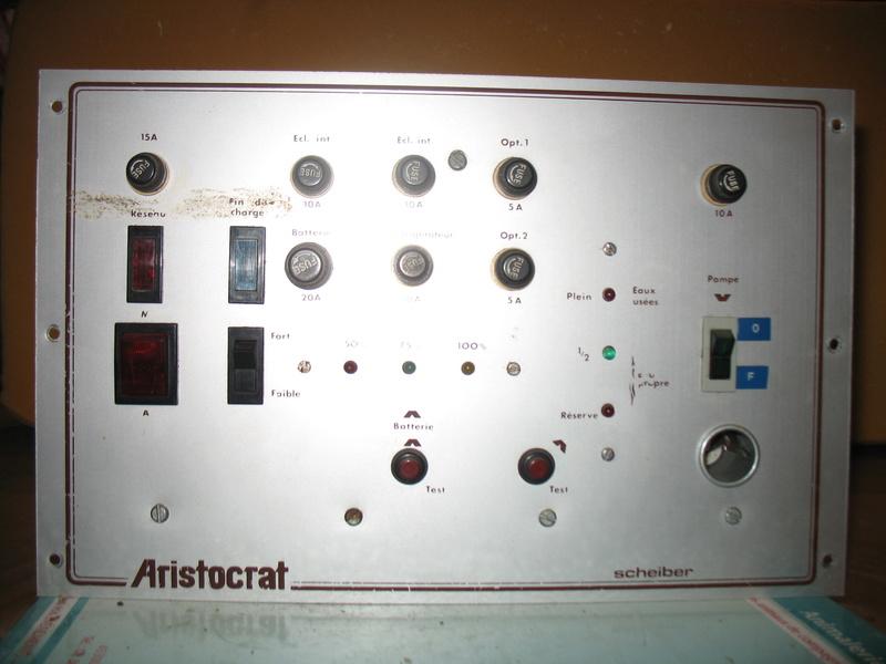 tableau de commandes électriques de la marque SCHEIBER Img_5814