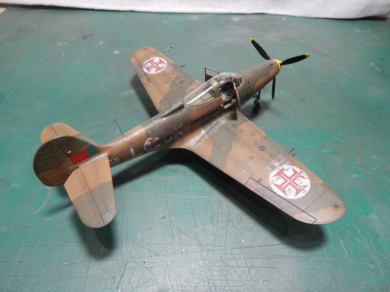P-400 Airacobra - Hasegawa 1/48 Dscn1511