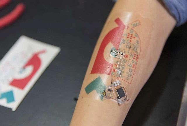 E-SKIN TECNOLOGÍA EN TU PIEL Tatto10