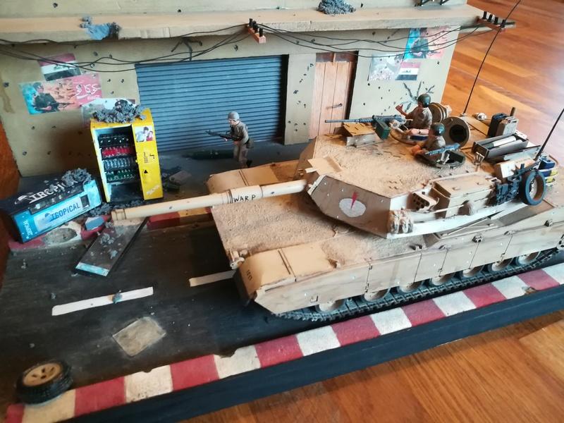 Diorama M1A1 Abrams en Irak - Tamiya 1/35 Irak Img_2010