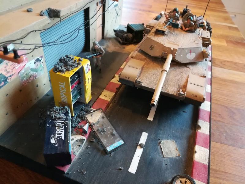 Diorama M1A1 Abrams en Irak - Tamiya 1/35 Irak Img_2015