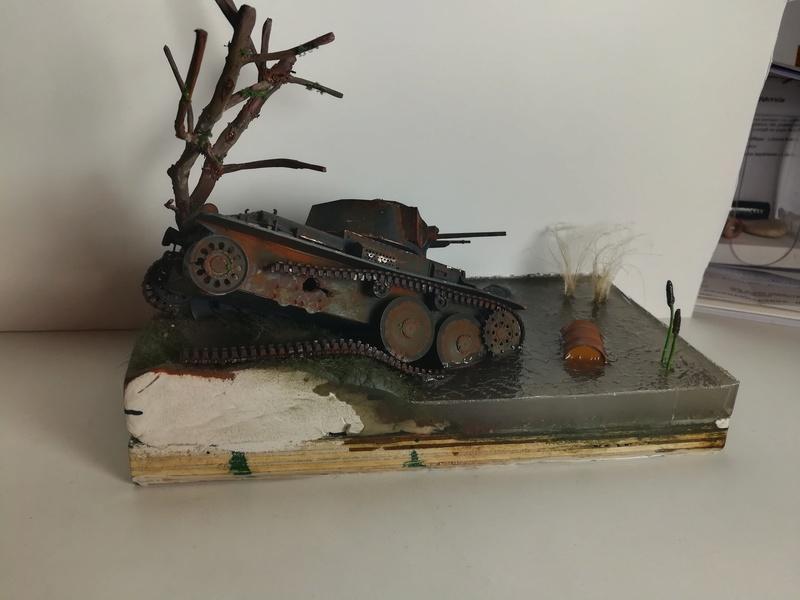 Diorama Panzer 38t - 1/35 Italeri Img_2020