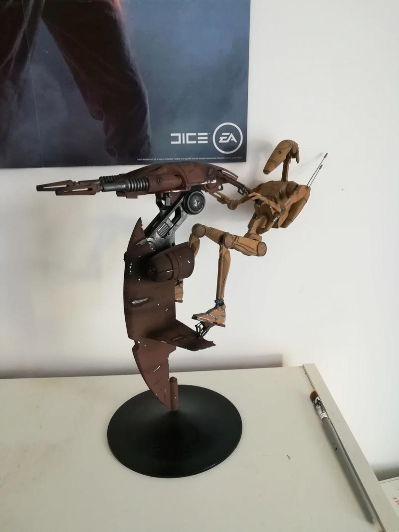 STAP battle droid Star Wars - Bandai 1/12 Img_2024