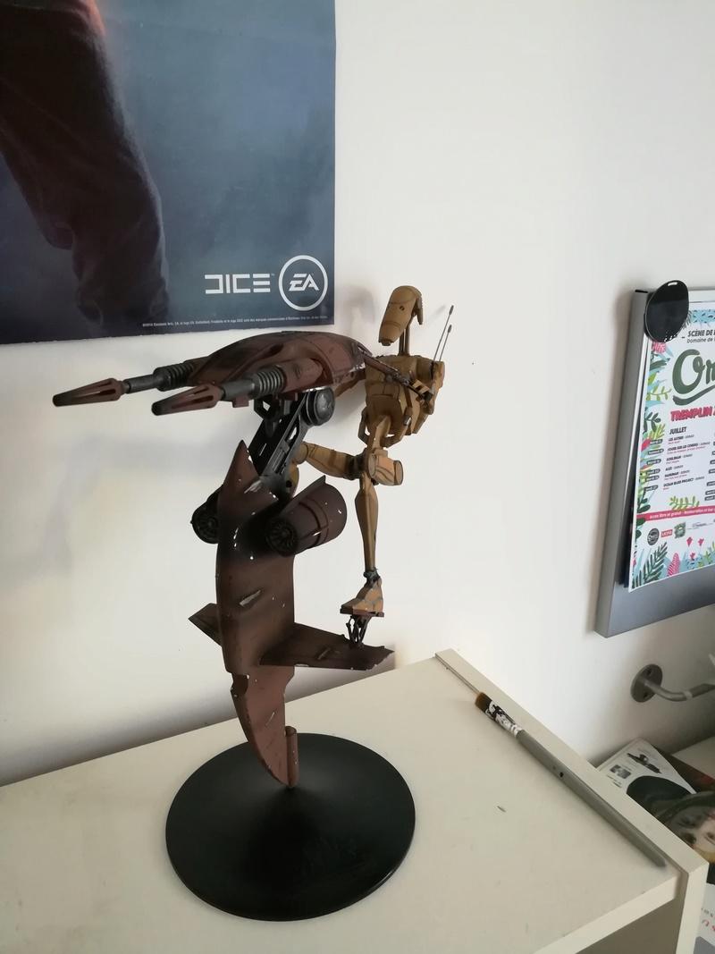 STAP battle droid Star Wars - Bandai 1/12 Img_2025