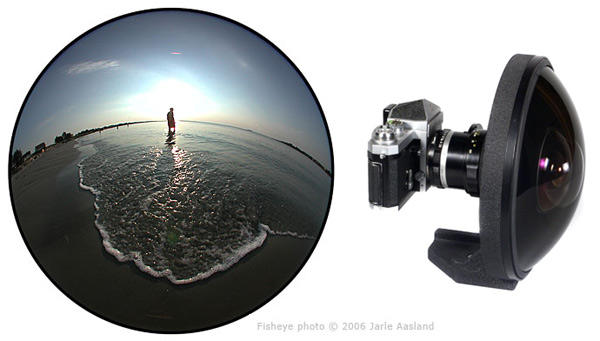 The Nikon Con & The Fish Eye Lens Nikkor10