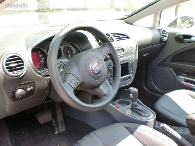 Vends Seat Leon TDI 140 DSG Cuir TO 0ed6f010