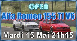 Open Alfa Romeo 155 TI V6