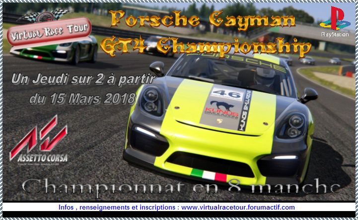 "Presentation Porcshe Cayman GT4 Championship"" Q8exhw10"