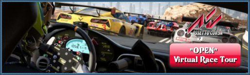 Les OPENS du Virtual Race Tour