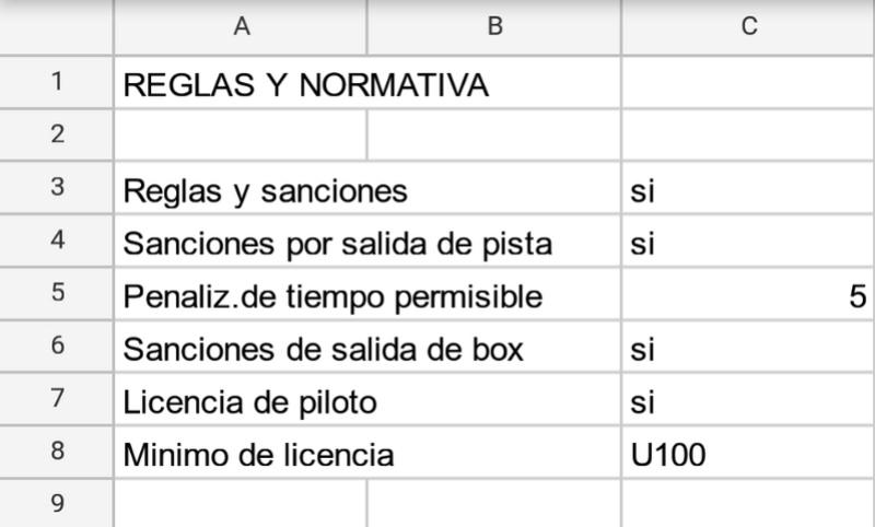 Campeonato interno CVP3  - Página 4 Reglas10