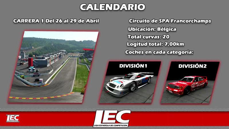 LIGA NACIONAL ESPAÑOLA DE ESCUDERIAS PROJECT CARS 2 Screen38