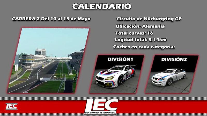LIGA NACIONAL ESPAÑOLA DE ESCUDERIAS PROJECT CARS 2 Screen39