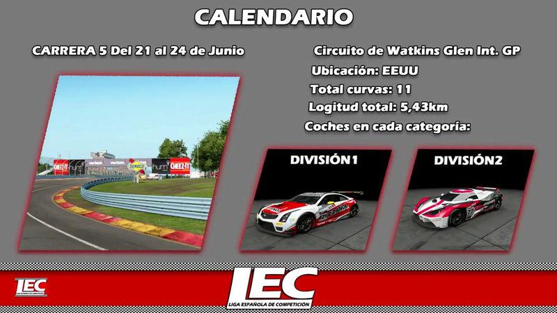 LIGA NACIONAL ESPAÑOLA DE ESCUDERIAS PROJECT CARS 2 Screen42