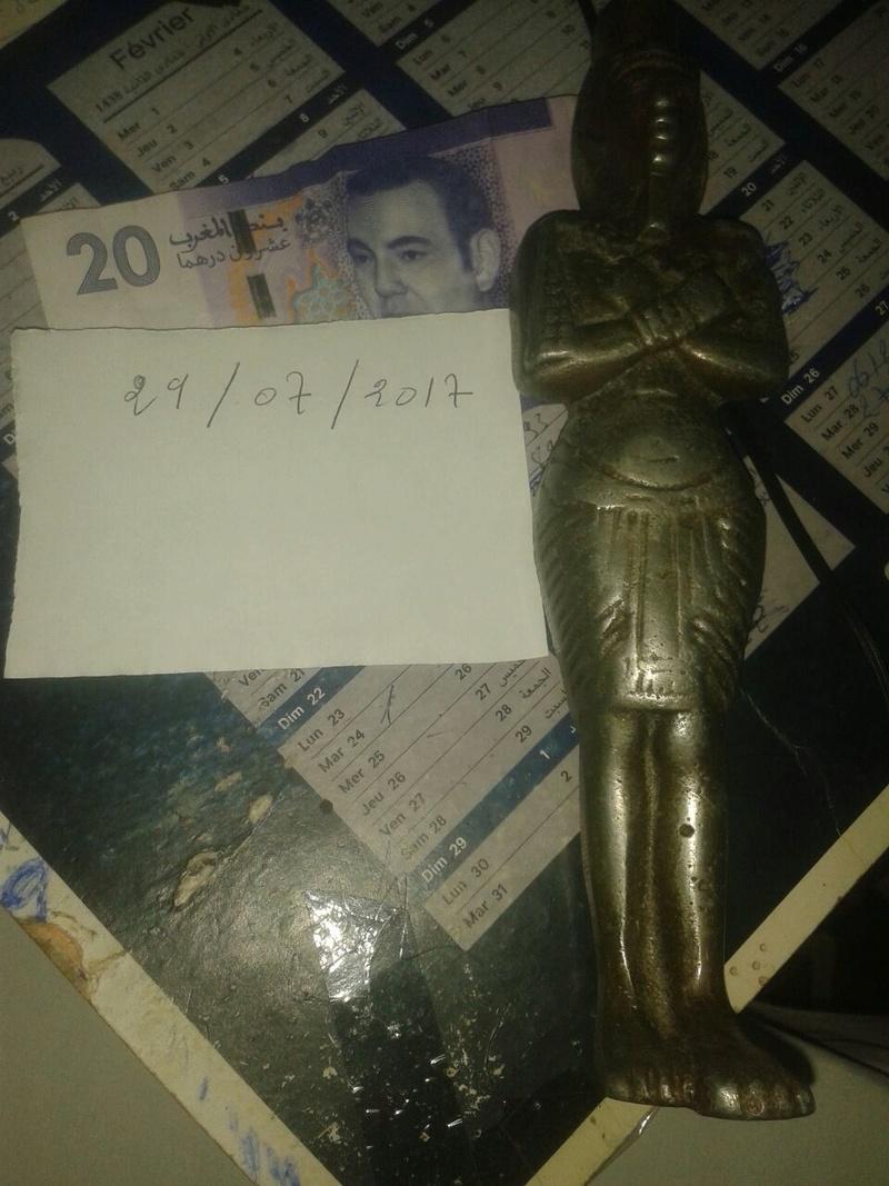 من فضلكم أريد تقييمكم لهذا التمثال الفرعوني Whatsa11
