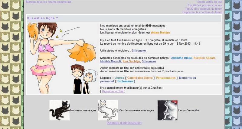 Un jour dans l'histoire du forum.... 9999me10