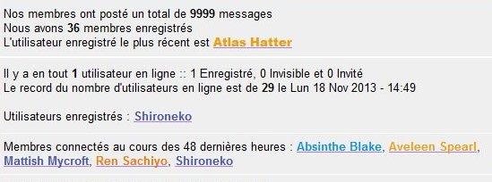Un jour dans l'histoire du forum.... 9999me12