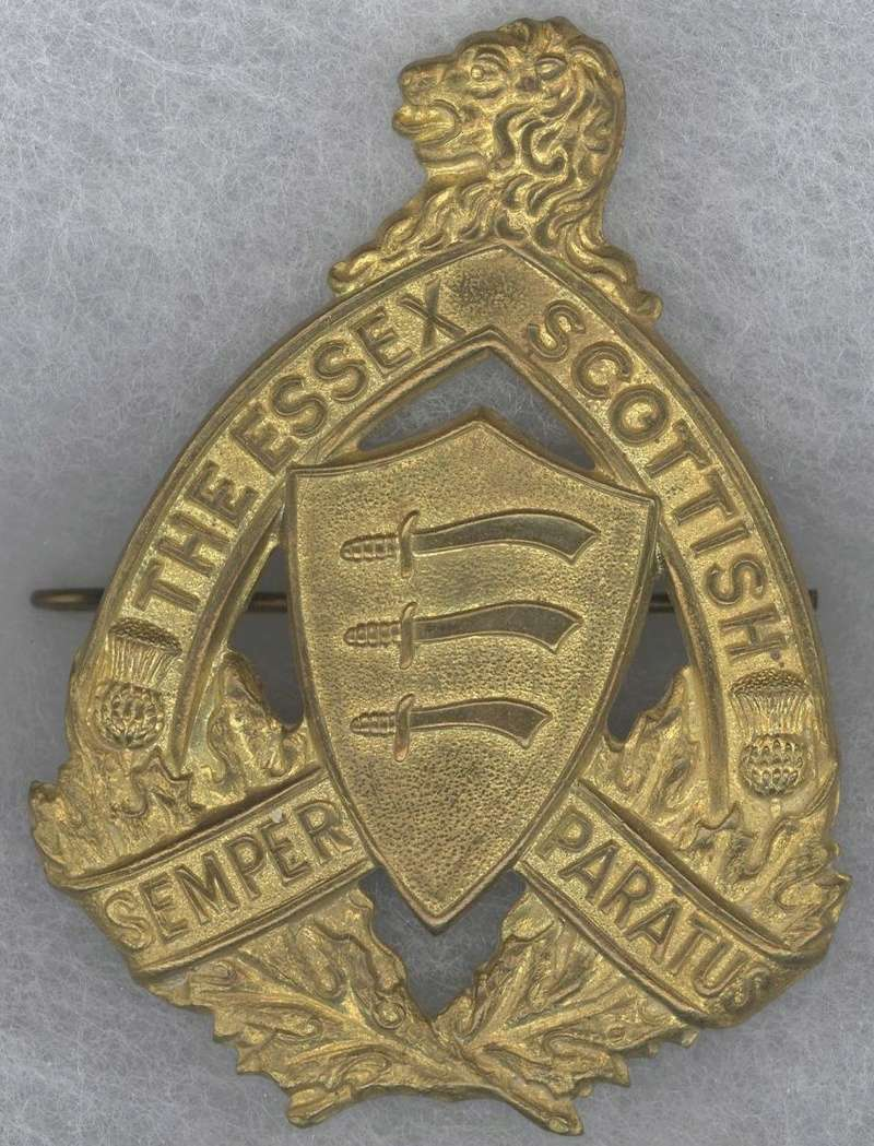 Essex Scottish Cap Badge Essex_11