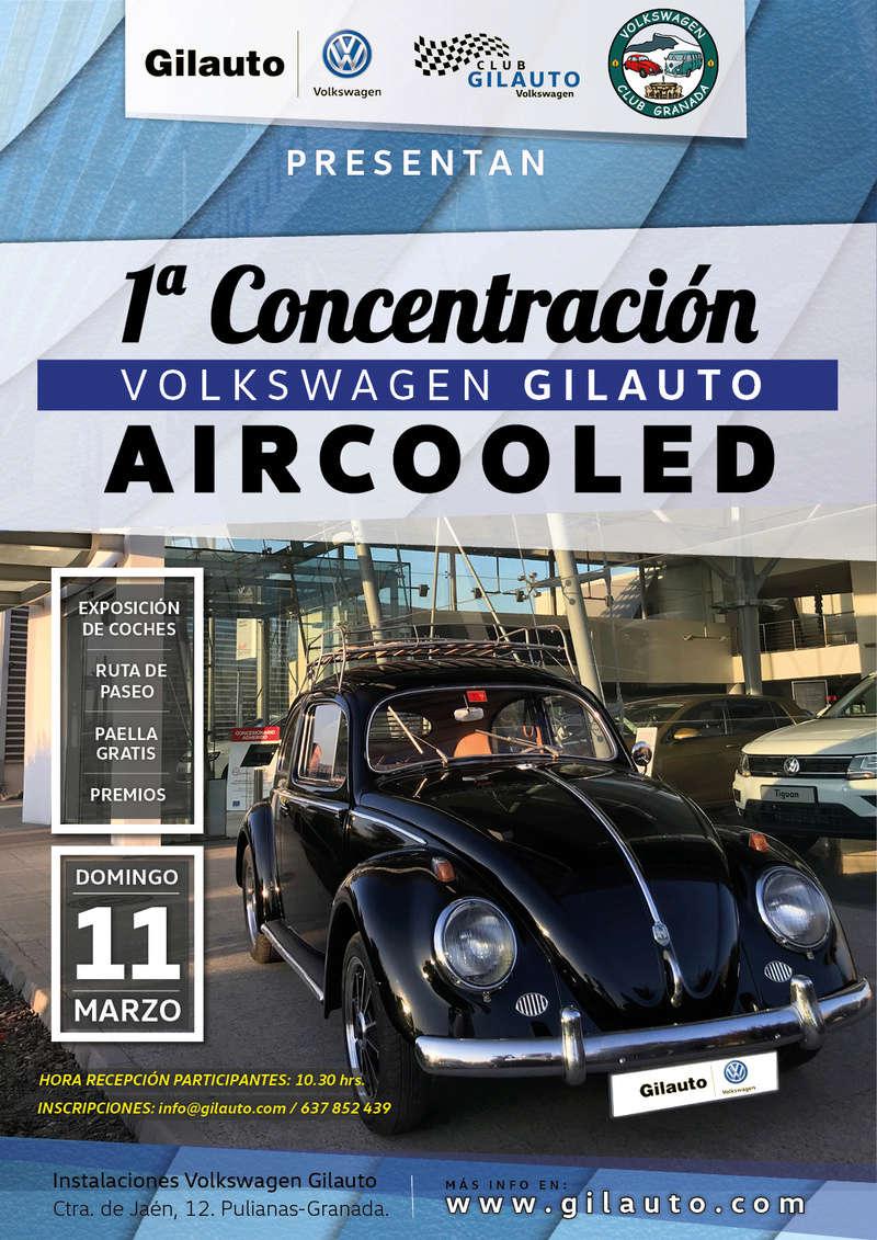 I CONCENTRACION VW AIRCOOLED GILAUTO (Granada) 2018 Cartel10