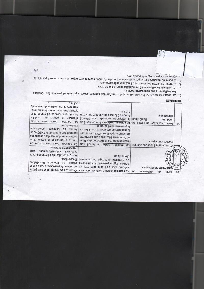 fiche technique du permis de conduire biométrique  2018-110