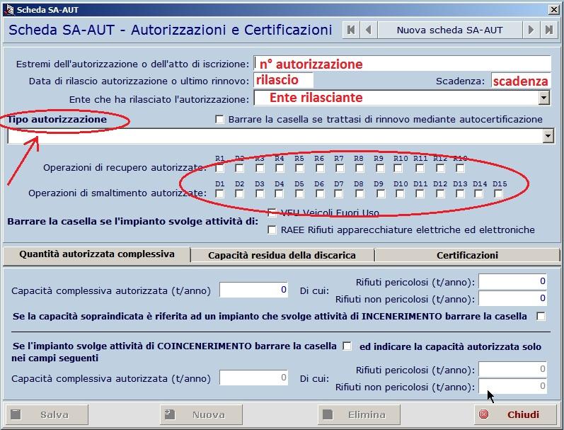 MUD 2018 - Nuova scheda Autorizzazioni Screen10