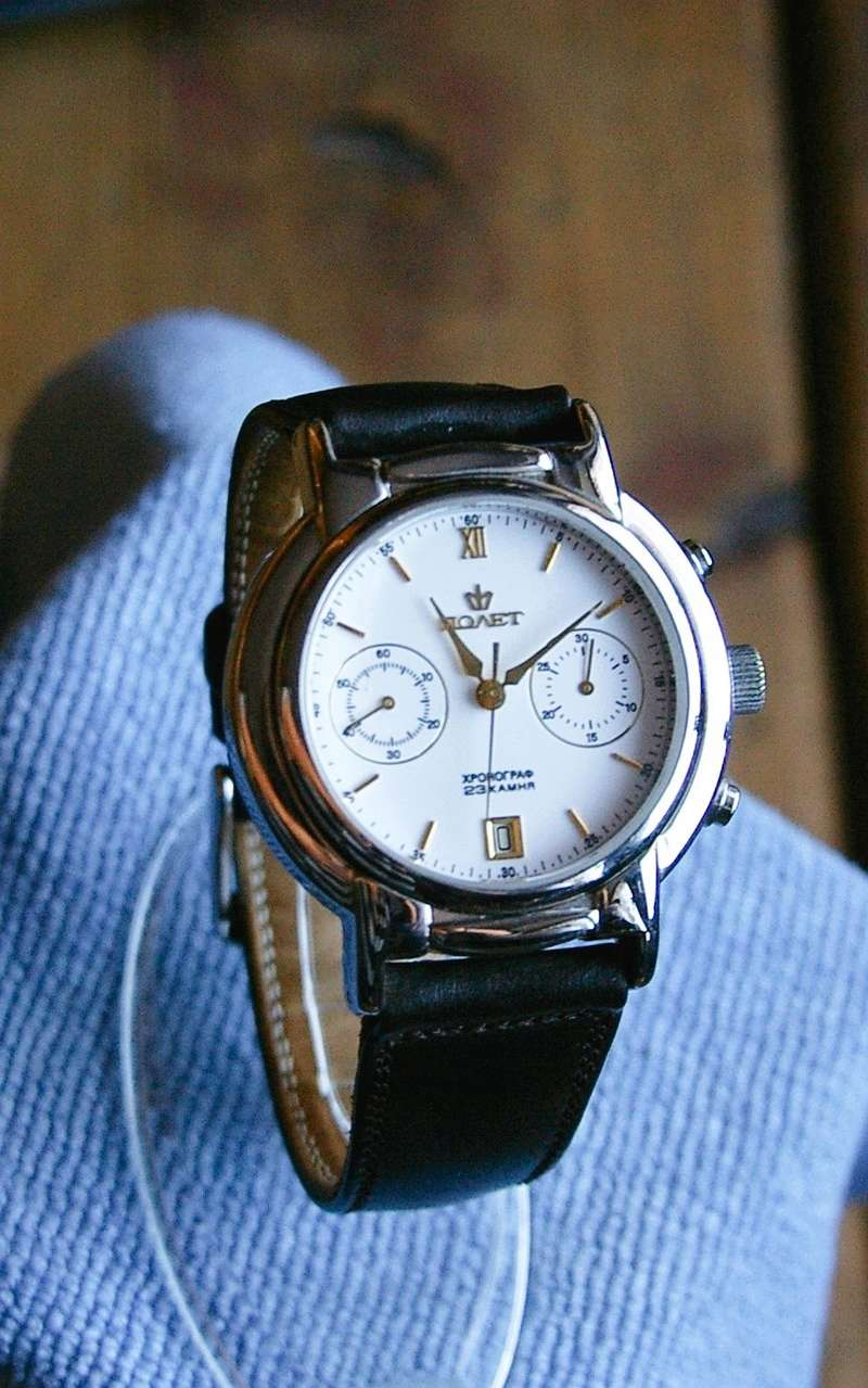 [ Ne vends pas] 4 russian watches ( like new ) Poljot14
