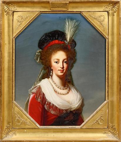 Marie-Antoinette en robe rouge sans ses enfants - Page 2 18101110