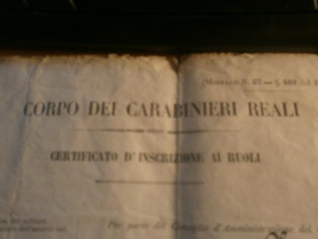 Corpo dei carabinieri reali P5270012