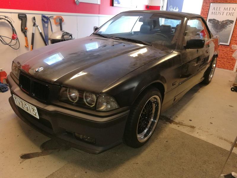 """Pexi: BMW E36 -93 Cabriolet """"amme"""" Img_2069"""