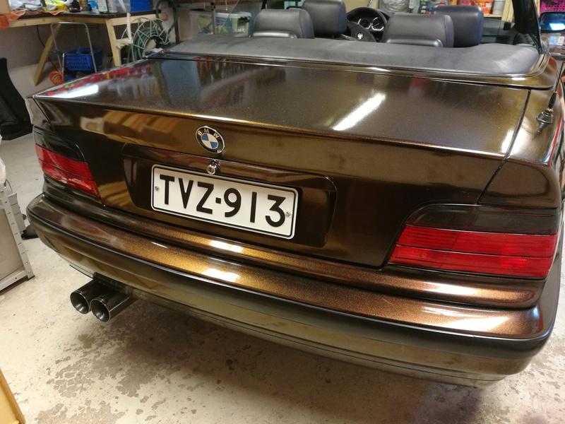 """Pexi: BMW E36 -93 Cabriolet """"amme"""" Img_2070"""
