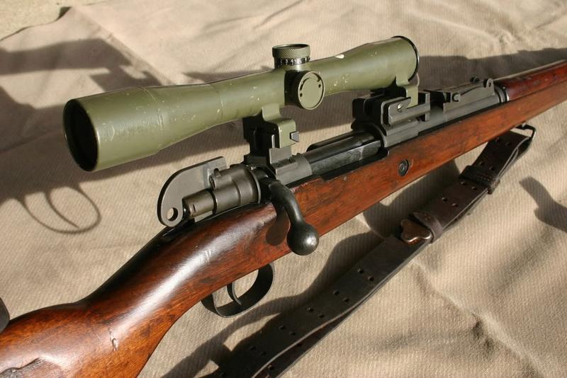 Mauser FN Belgique en calibre 308win Israel10