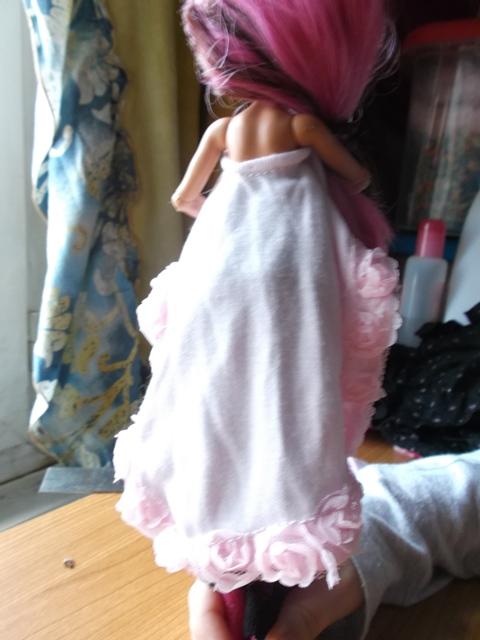 la robe ample asymétrique  Dscf6913