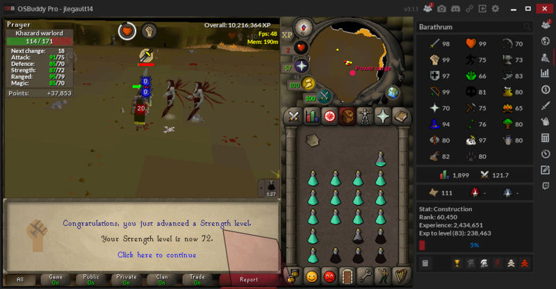 Jake81's journey to RS Streng10