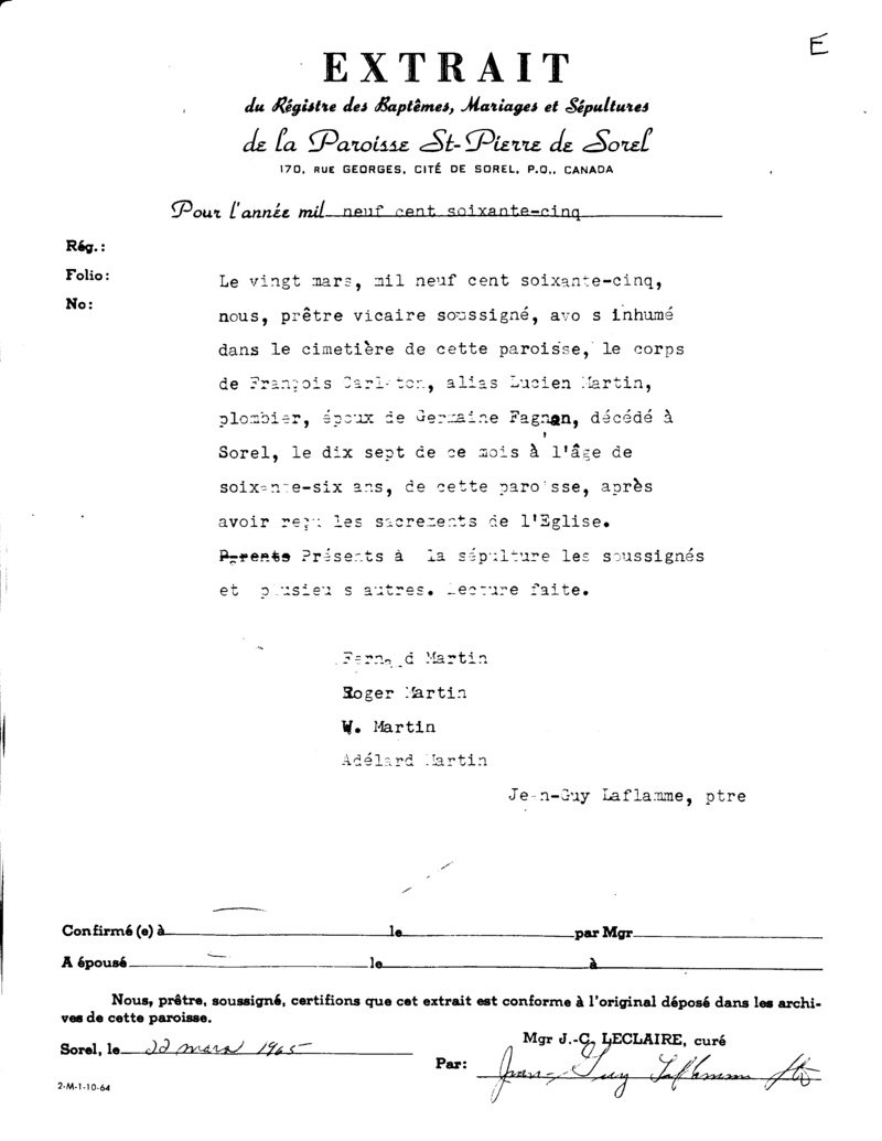 Mariage de William Damase Carleton Martin et Clara Guillot(te) - Page 2 Dycys13