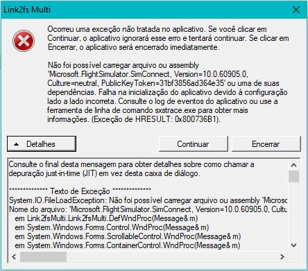 Link2FS no Windows 10 64bits Erro_l10