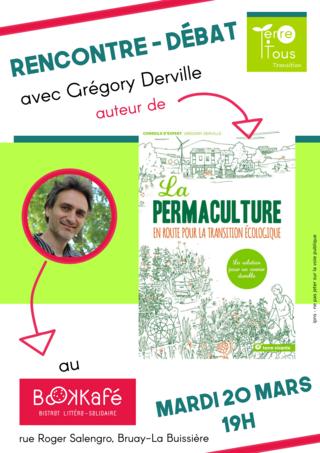 20 mars au Bookkafé : Rencontre avec Grégory Derville / Permaculture 20mars10
