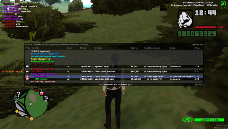 Reporte hacia el jugador Derick Mta-sc12