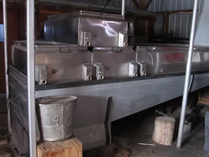 evaporateur 3.5x12 et 18x72 au bois a vendre Img_4413