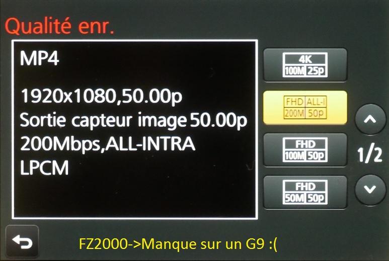 Panasonic Lumix G9 par dpreview -l'Olympus OM-D E-M1 Mark II -D500 Fz2k_m10