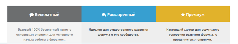 Представляем Пакеты услуг Forum2x2 : новый способ развития форума Zazi_e10