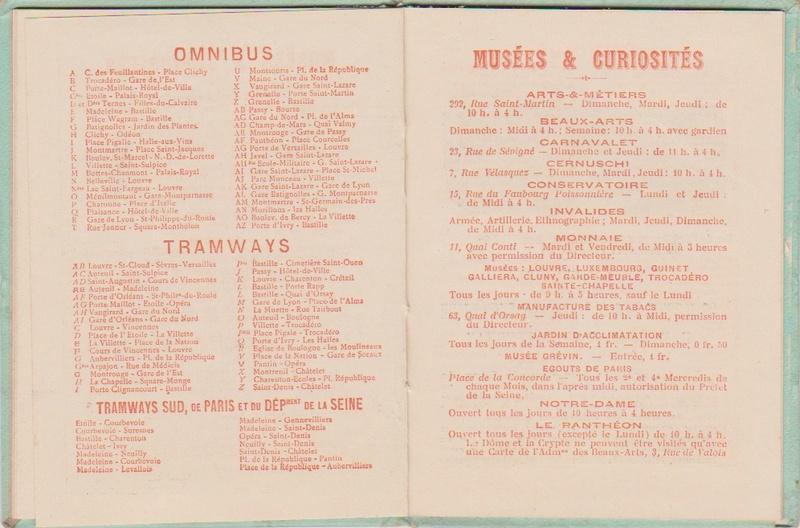 Champagne MERCIER - Guide offert aux visiteurs de l'Exposition de 1900 à Paris 0911