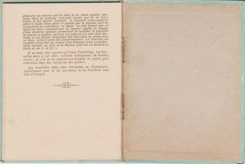 Champagne MERCIER - Guide offert aux visiteurs de l'Exposition de 1900 à Paris 1411