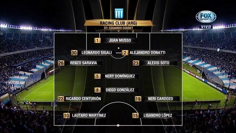 Copa Libertadores 2018 - Grupo E - J5 - Racing Club Vs. Club Universidad de Chile (1080p) (Español Latino) A10