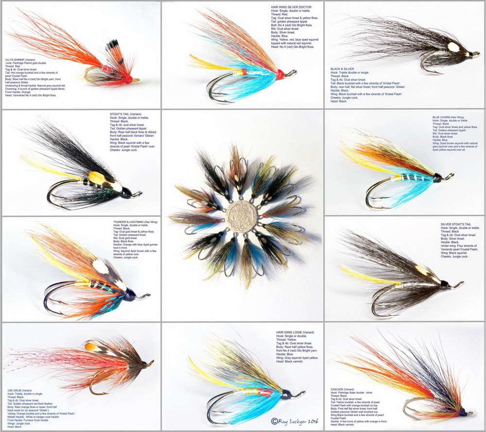 Flies for Atlantic Salmon (Salmo salar) 107m8410